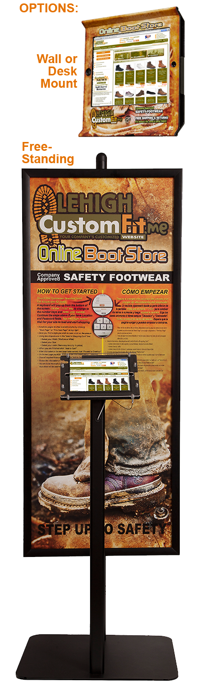 Safety Footwear Program Kiosks