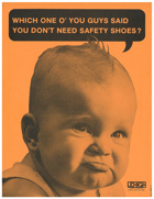 Safety Footwear Vintage Poster 1