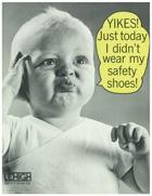 Safety Footwear Vintage Poster 2