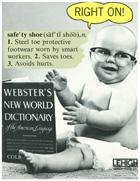 Safety Footwear Vintage Poster 3