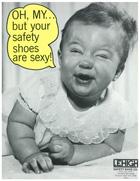 Safety Footwear Vintage Poster 4