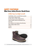 Safety Footwear Cover