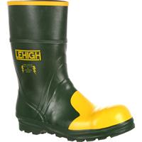 Lehigh Unisex Steel Toe Rubber Hydroshock Waterproof Work Boot