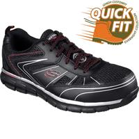 SKECHERS Synergy Fosston Alloy Toe Work Athletic Shoe