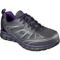 SKECHERS Work Synergy Algonac Alloy Toe Work Athletic Shoe