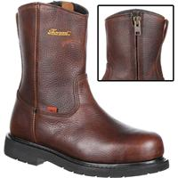 Thorogood I-MET2 Side-Zip Steel Toe Met-Guard Work Wellington