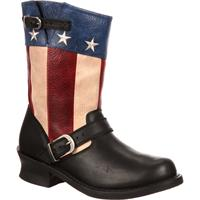 Durango Women's SoHo Patriotic Engineer Boot