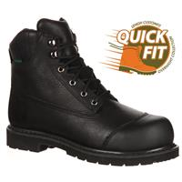 FREE OVERNIGHT SHIPPING Lehigh Safety Shoes QuickFit Unisex Steel Toe Waterproof Insulated Work Boot