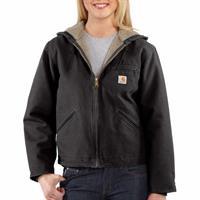 carhartt Women's Sandstone Sierra Jacket, Sherpa Lined